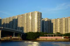 lam tin, hong kong - stock photo