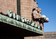 Public transport in Finland - stock photo