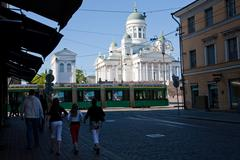 Capital City of Finland - stock photo