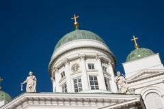 Capital City of Finland Stock Photos