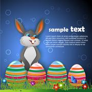 Stock Illustration of easter bunny