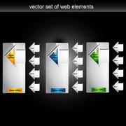 Web element Stock Illustration