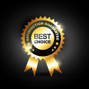 best choice vector - stock illustration