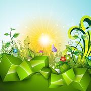 Stock Illustration of green nature