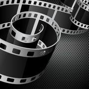 film reel - stock illustration