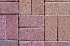 Paving slabs close up a background Stock Photos