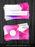 funky business card - stock illustration
