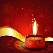 Stock Illustration of diwali festival background
