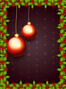 Merry christmas background Stock Illustration