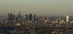 Los Angeles Afternoon Skyline - stock photo
