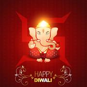 Indian god ganesh Stock Illustration