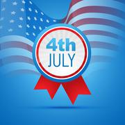 4th of july independence day - stock illustration
