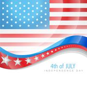 July 4th america Stock Illustration