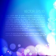 abstract background of bokeh effects - stock illustration