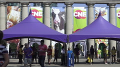 CNE (Canadian National Exhibition) Toronto 2015  Stock Footage