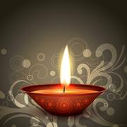 indian festival diwali - stock illustration