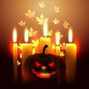Stock Illustration of scary halloween design