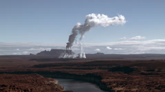 Cloud Factory Stock Footage