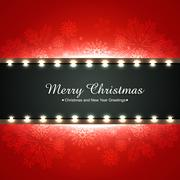 merry christmas background - stock illustration