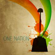 Patriotic indian flag Stock Illustration