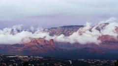 Mesa Mists Stock Footage