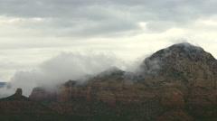 Cloudy Peaks Stock Footage