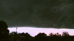 Gust Front Stock Footage