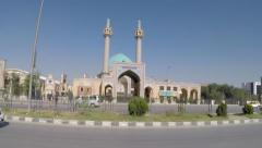 AFGHANISTAN BLUE DOME SHIA MOSQUE KABUL Stock Footage