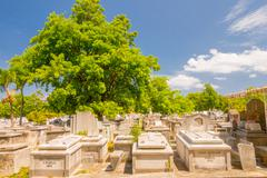 HAVANA, CUBA - SEPTEMBER 1, 2015:The Colon Cemetery - stock photo