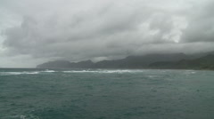 Storm Clouds in Hawaii Stock Footage