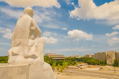 The Revolution Square or Plaza de la Revolucion in Havana, Cuba - stock photo