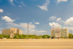 Stock Photo of The Revolution Square or Plaza de la Revolucion in Havana, Cuba