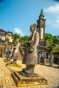 Stock Photo of Tomb of Khai Dinh emperor in Hue, Vietnam