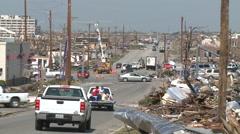 Desolation Row - Tornado Damage in Missouri Stock Footage