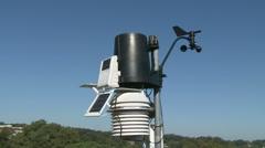 Weather Sensors Meteorological Equipment Stock Footage
