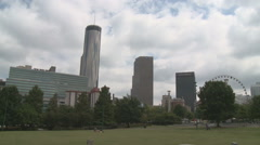 A Cloudy Day in Georgia Stock Footage