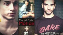 Model Slide Motion - stock after effects