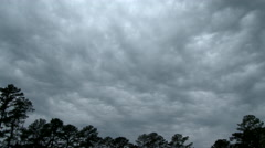 Foul Weather Sky in Time Lapse. Stock Footage