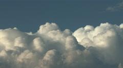 Altocumulus Lenticularis Clouds In Sky 4K Stock Footage