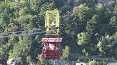Whirlpool Aero Cable car, Niagara Falls 2015 Stock Footage