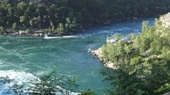 Niagara River In Niagara Falls Ontario 4k Stock Footage