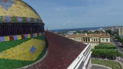Amazon Theater in Manaus, Brazil - stock footage