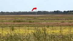 Wind Sock in the Breeze Stock Footage