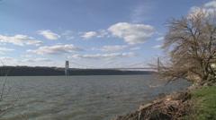 George Washington Bridge Stock Footage