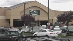Haggen Supermarket - stock footage