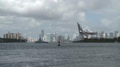 Miami Harbor Stock Footage