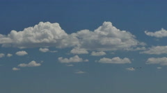 4K Time Lapse of the Classic Cumulus Cloud - stock footage