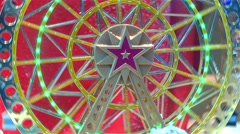 Ferris Wheel Toy At Paris Stock Footage