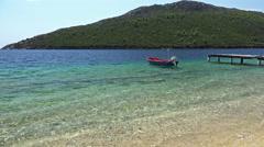Porto Koufo, Halkidiki. Film was made in Greece Stock Footage