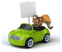 Stock Illustration of Fun squirrel